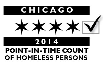 2014 Chicago Point In Time Homeless Count logo