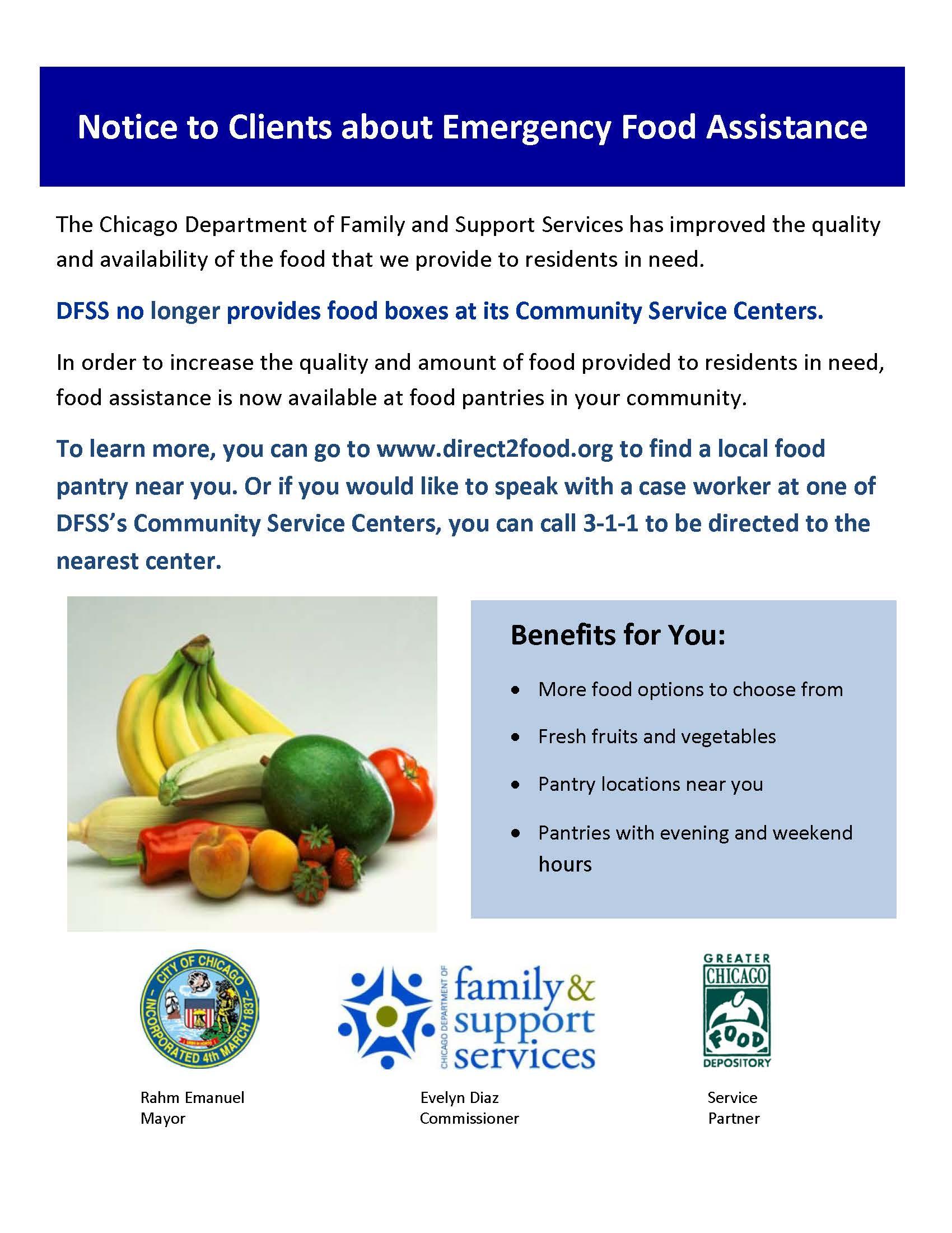 community emergency assistance program