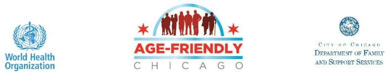 Age Friendly Chicago banner image
