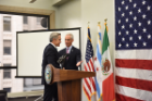 Mayor Emanuel Hosts Naturalization Ceremony With Special Guest Mexico City Mayor Mancera on May 5, 2017
