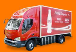 Coca-Cola's Smith Electric Vehicles truck