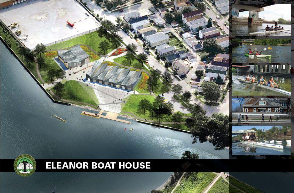 Eleanor Boat House Rendering