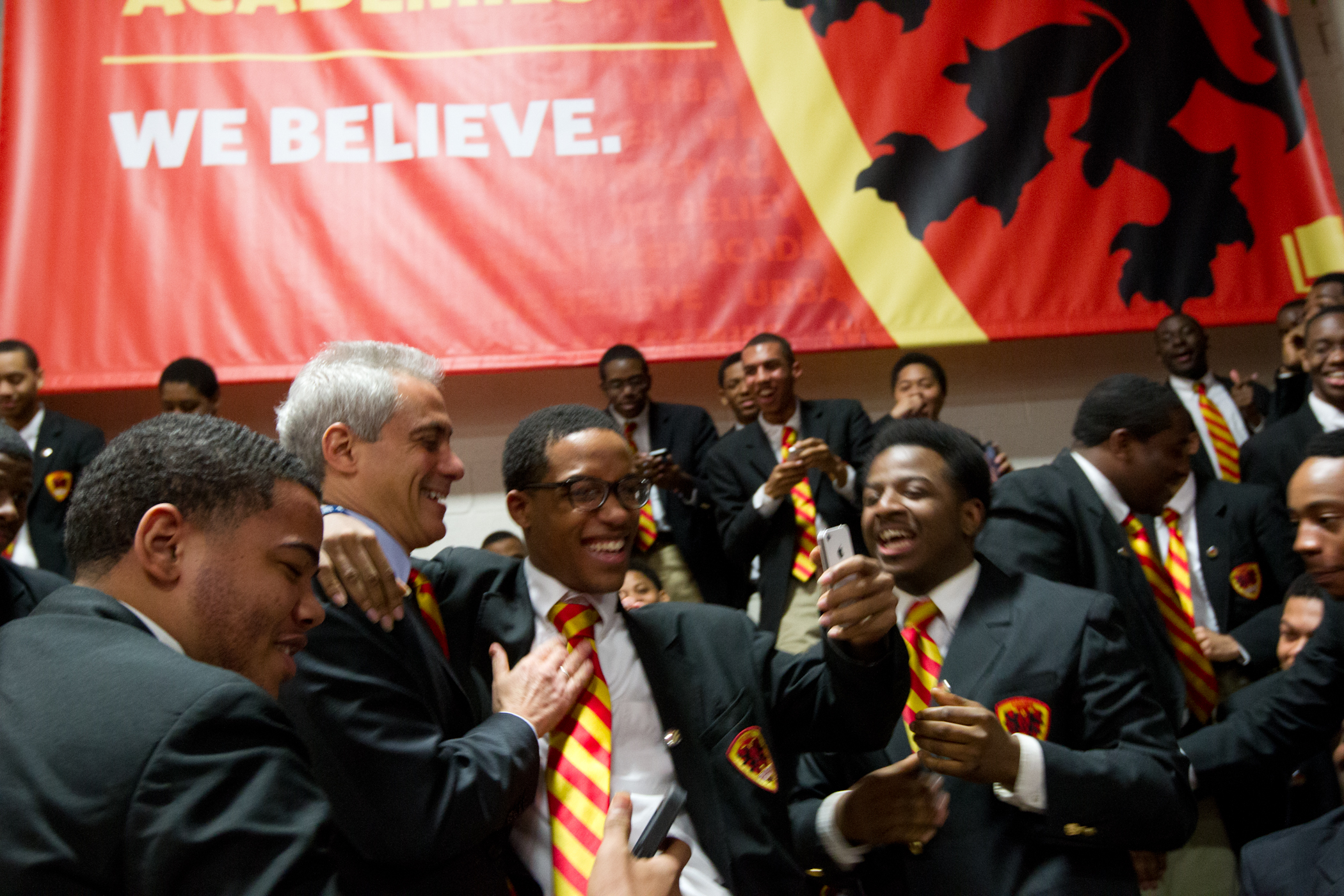 Mayor Emanuel Celebrates with Urban Prep Academy Class of 2014