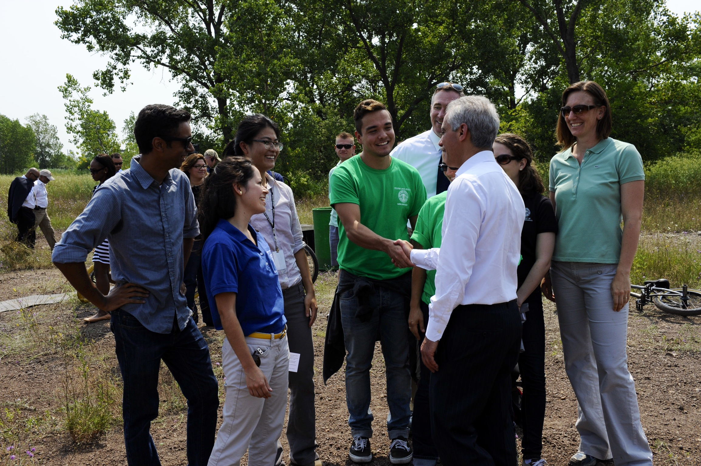 Mayor Emanuel, Chicago Park District Announce Calumet Bike Park At Big Marsh