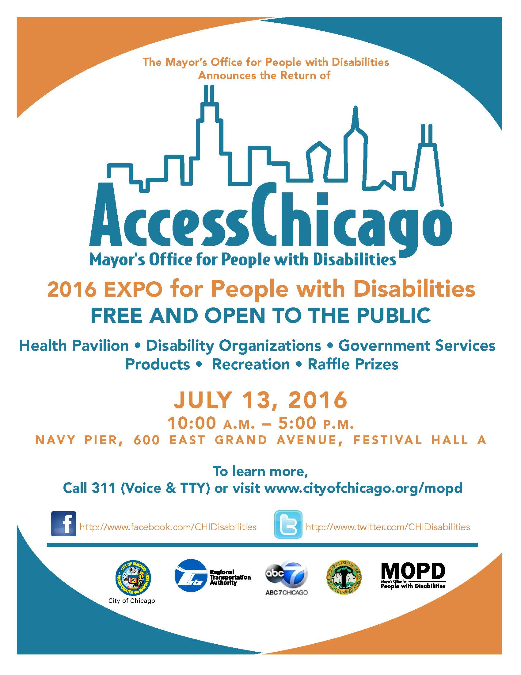 Access Chicago Flyer