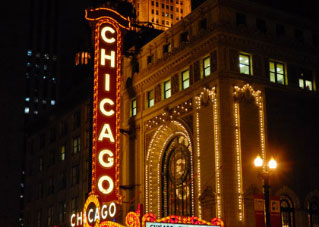 Chicago Theater Front