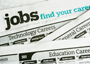 Jobs Section of Newspaper