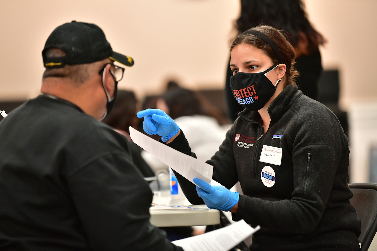 City partners with CommunityHealth for Protect Chicago Plus vaccination event in Belmont Cragin