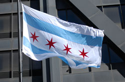 Photo of Chicago Flag